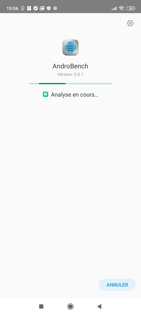 Scan antivirus Xiaomi Redmi Note 9 Pro
