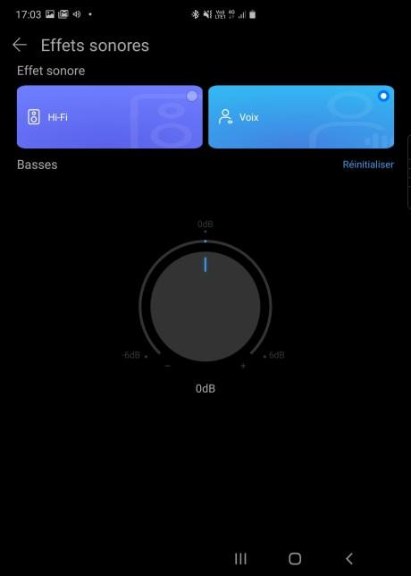 L'application Al Life de la Huawei Sound X