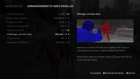 Le menu d'aide visuelle dans The Last of Us Part 2