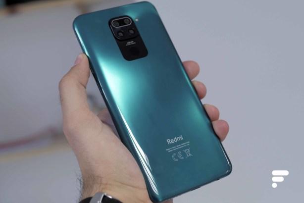 Dos du Xiaomi Redmi Note 9