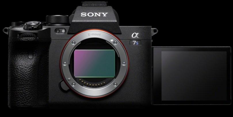 L'écran pivotant du Sony A7S III