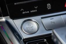 La commande permettant d'allumer la voiture // Source: Étienne Rovillé pour Audi France