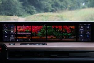 Les écrans tactiles de la Honda e // Source: Yann Lethuillier pour Frandroid