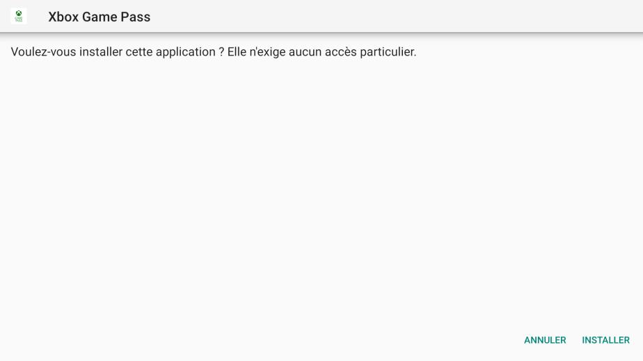 Une fois installée il est possible de lancer l'application