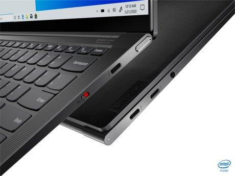 Le Thunderbolt 4 fait son arrivée // Source : Lenovo