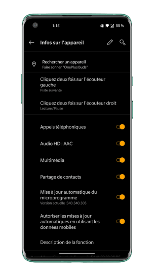 OnePlus Buds - Menu (2)