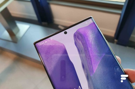 Bulle du Samsung Galaxy Note 20 Ultra