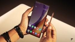 Samsung Galaxy Note 20 Ultra et stylet
