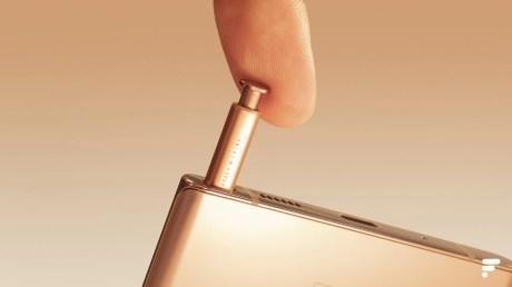 Samsung Galaxy Note 20 Ultra rangement S Pen