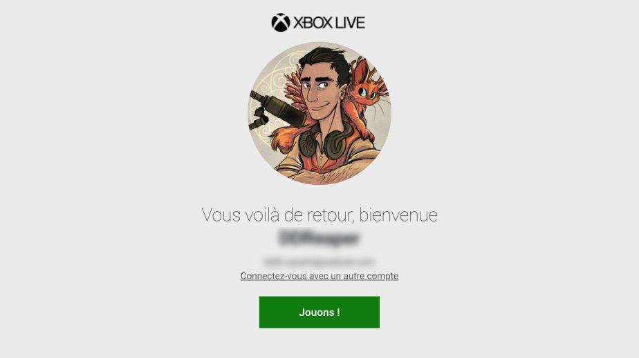 Xbox Game Pass connexion (1)