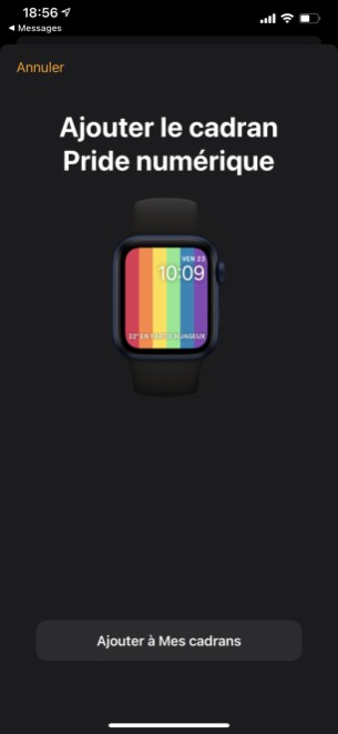 Apple Watch watchOS 7 cadran