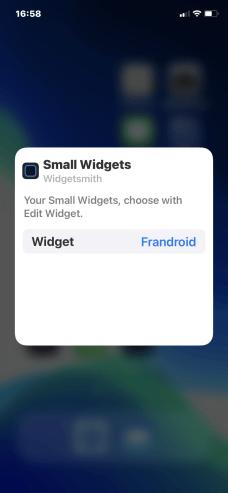 iOS Widgets 30
