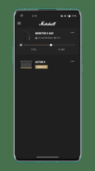 Marshall Monitor II ANC - App