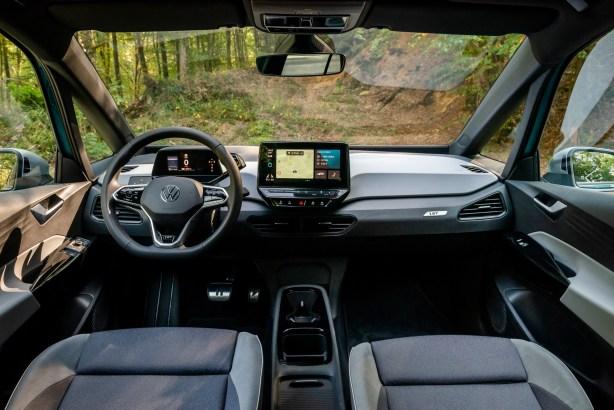Volkswagen ID.3 // Source Marius Hanin pour Frandroid