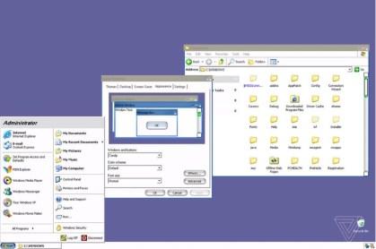 Windows XP Aqua