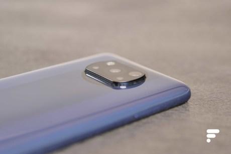 Module photo protubérant sur le Xiaomi Poco X3