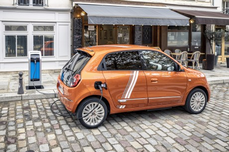 The Renault Twingo Electric // Source: Jean-Brice Lemal for Renault France