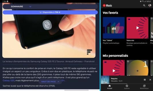 Samsung Galaxy Tab S6 Lite - Multitâche (3)