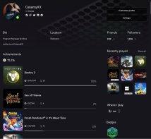 Xbox nouvelle mise a jour profil theme (1)