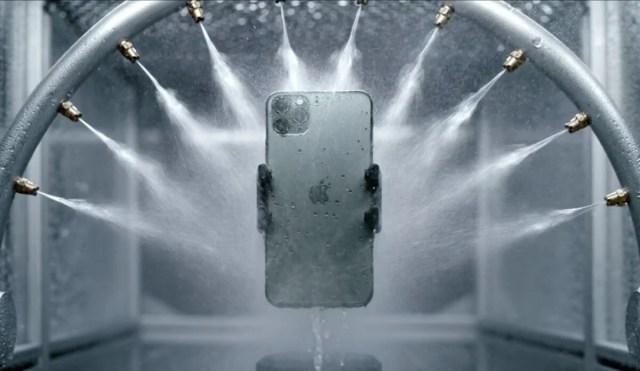 Apple évoque les tests d'étanchéité de l'iPhone 11 Pro en vidéo