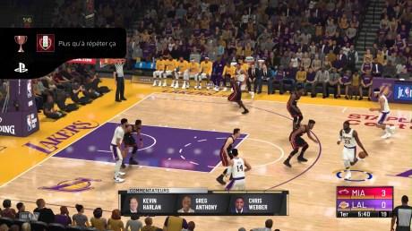 Le jeu NBA 2K21 en version PS4 // Source : Capture du jeu / 2K Sports
