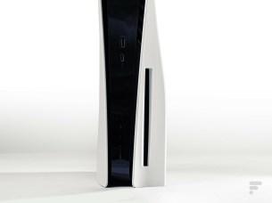 Le lecteur Blu-ray 4K de la PS5 // Source : Frandroid / Arnaud GELINEAU
