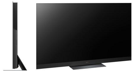 Un téléviseur assez massif en raison de son équipement audio