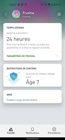L'application présente les informations importantes // Source : Frandroid