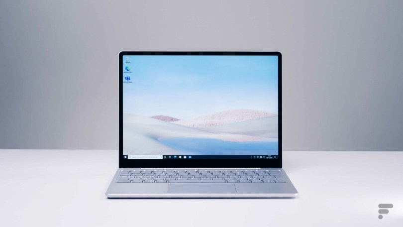Le Microsoft Surface Laptop Go
