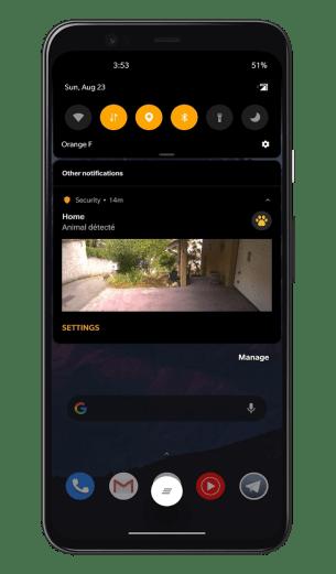 Netatmo Caméra Extérieure Intelligente avec Sirène - Application - Notifications (3)