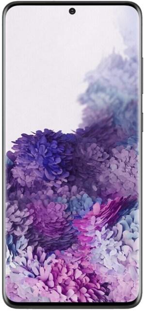 L'écran du Samsung Galaxy S20