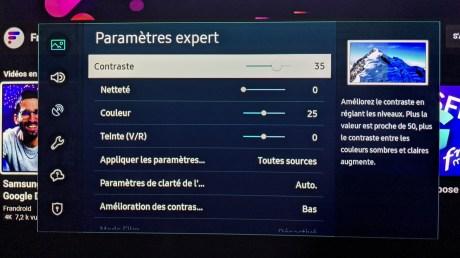 """Les paramètres """"expert"""" pour l'image"""