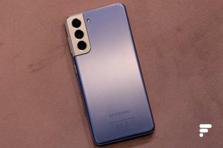 Dos du Samsung Galaxy S21