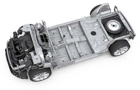 Ici, une plateforme destinée aux véhicules thermiques.