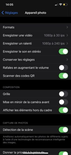 Comment enregistrer les photos en JPEG par défaut sur iOS 02