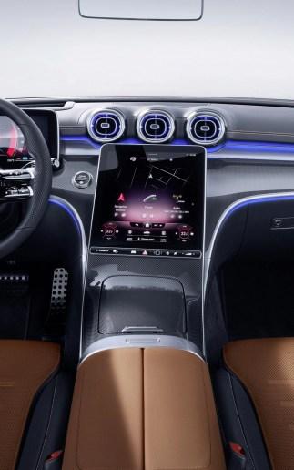 MBUX 2 dans la Mercedes Classe C