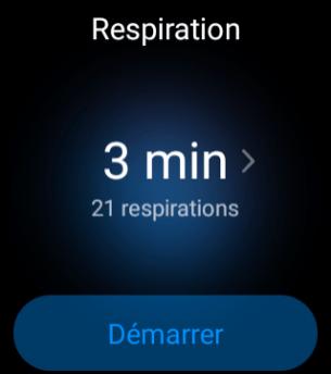 Oppo Watch - Respiration