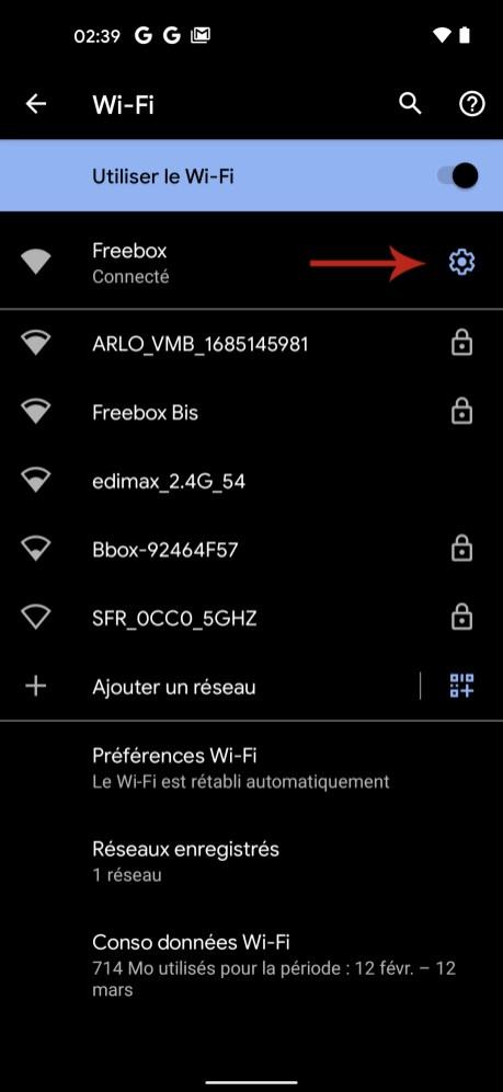 Comment connaitre son adresse IP sur Android 03