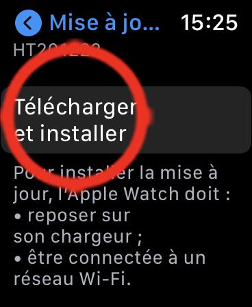 Comment Mettre à Jour son Apple Watch avec l'a seule montre 06