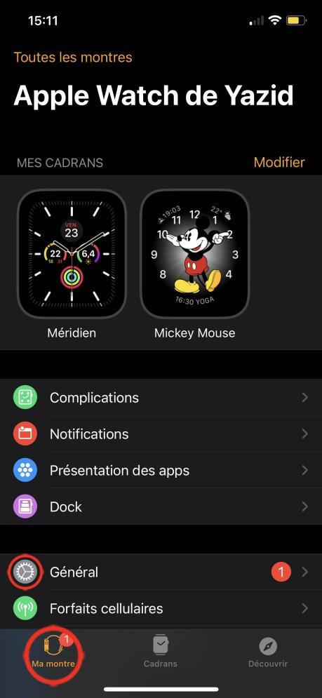 Comment Mettre à Jour son Apple Watch avec l'iPhone 01