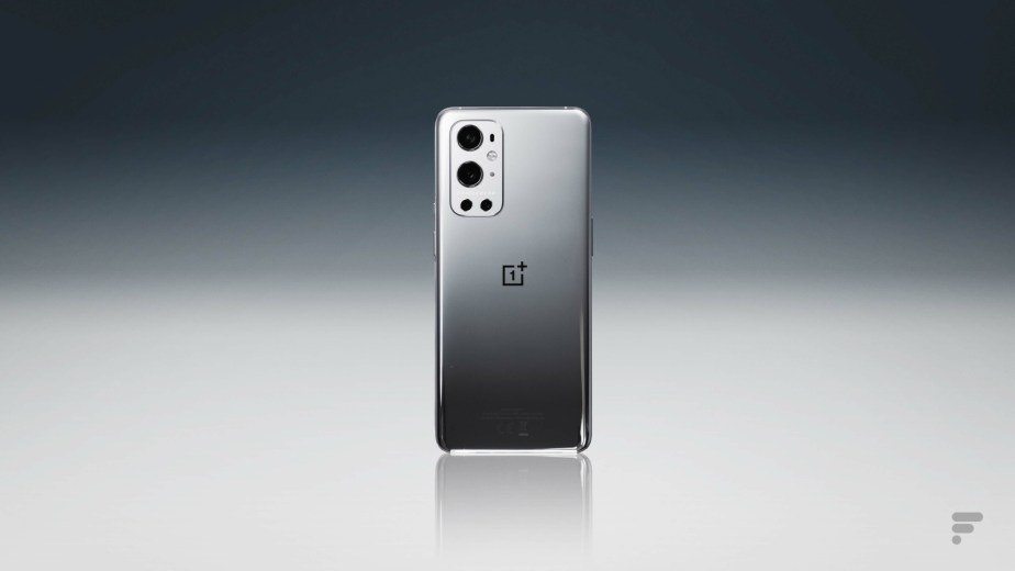 The back of the OnePlus 9 Pro
