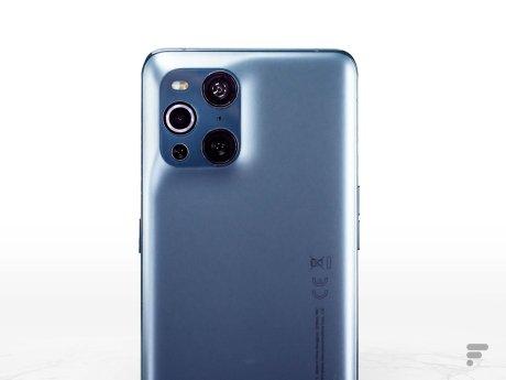 Module photo de l'Oppo Find X3 Pro