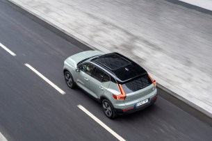 Le Volvo XC40 Recharge Twin / Source : ACE Team pour Volvo Cars France