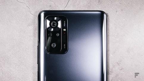 Module photo du Xiaomi Redmi Note 10 Pro