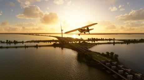 Paesi Bassi su Microsoft Flight Simulator // Fonte: Microsoft / Asobo Studio