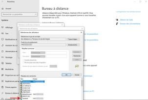 Autoriser la prise de contrôle à distance d'un PC sous Windows 10 009