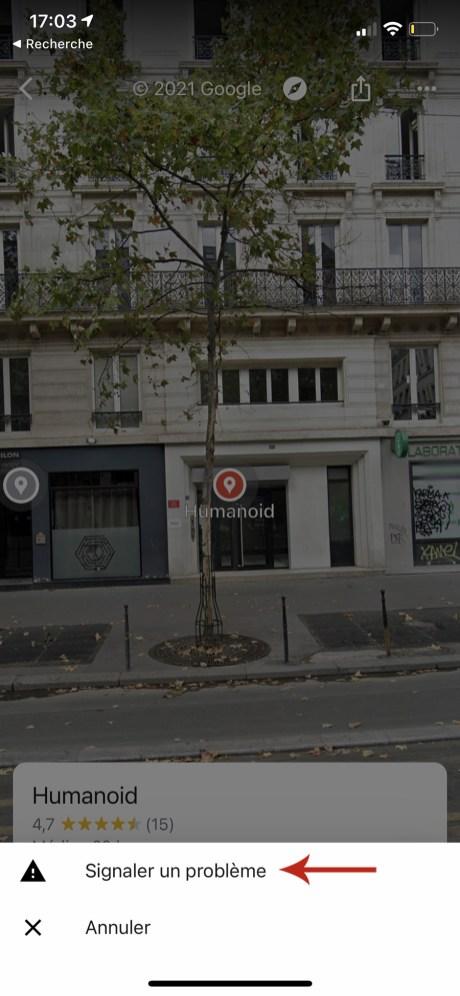 Comment flouter sa maison sur google street-view sur smartphone 03