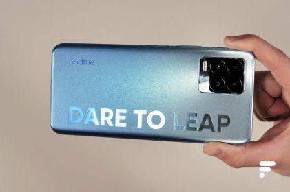 Slogan au dos du Realme 8 Pro
