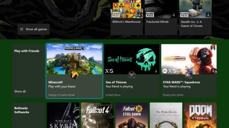 Xbox améliore les recommandations dans le Game Pass