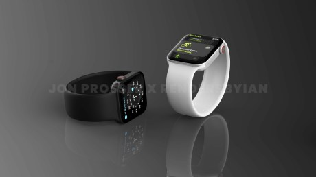 Apple Watch Series 7 // Source : Jon Prosser x Rendersbylan